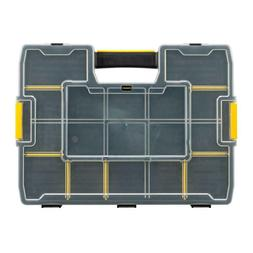 15-Compartment Tool Carrying Case Small Parts Organizer Adju