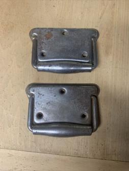 2 Large Stanley Trunk Ammo Tool Box Drop Pull Handles