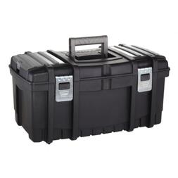 Husky 22 in. Tool Box with New Metal Latches Removable Stora