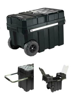 24in Rolling Tool Box with Wheels Craftsman Heavy Essential
