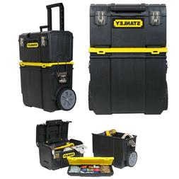 Stanley 3-in-1 Detachable Rolling Mobile Tool Box Lockable S