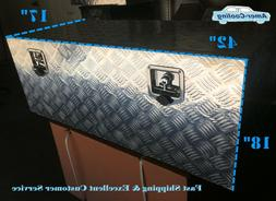 "42""L Aluminum Truck Underbody Tool Box Trailer RV Tool Stora"