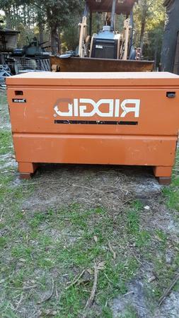 RIDGID  48 in. x 24 in. Universal Storage Chest in Orange,
