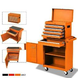 5-Drawer Rolling Tool Chest with Wheels and Drawers,Tool Sto