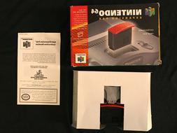 Nintendo 64 RAM Expansion PAK Pack + Removal Tool Box Manual