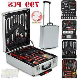799 PCS Hand Tool Set Mechanics Kit Wrench Socket Toolbox Ca