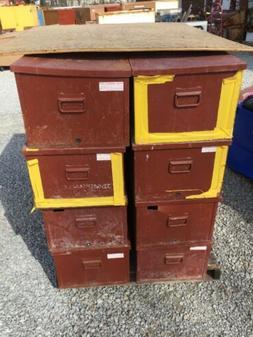 "8 JOBOX Welder's Job Site Boxes, 30"" W x 16"" D x 12"" H, 6509"