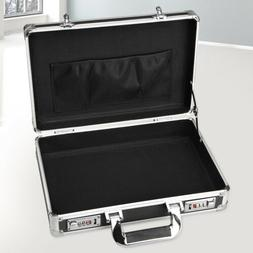 Aluminum Hard Case Box Briefcase Toolbox Storage Box Cases B