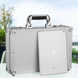 Anti-Theft Design Briefcase Aluminum Hard Cases Inner Net Po