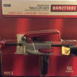 Craftsman Auto Adjust Push Peg Clamp 949808 New Sealed