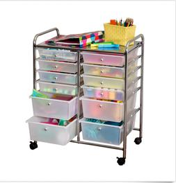 Brand NEW Honey-Can-Do Rolling Storage Cart and Organizer wi