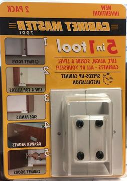 Cabinet master tool 5 in 1 tool,cabinet maker,install,align,