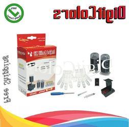 Cartridge Refill ink bottle Kit tool box for Canon PG-260xl