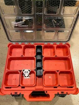 Center Bins Set x4 🔥 for Milwaukee PACKOUT 🧰 Tool Box