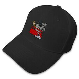 Dad Hats for Men Tool Box Embroidery Women Baseball Caps Acr