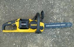 "Dewalt DCCS670B 60 Flexvolt Brushless Chainsaw Box 16""  CHEA"