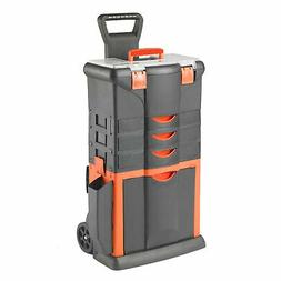 TOOD Detachable Rolling Tool Box Organizer Storage Bin Cart