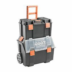TOOD Detachable Rolling Tool Box Organizer Storage Bin Set w