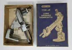 Craftsman Drill Grinding Attachment No. 6677 Original Box In