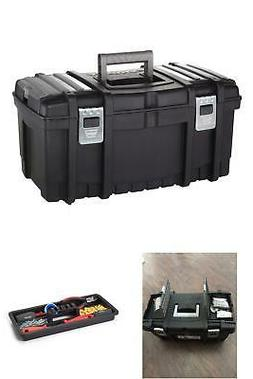Extra Large Tool Box Small Parts Organizer Lid Portable Gear