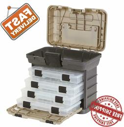 Fishing Tackle Box Plano Lures Storage Tray Bait Case Tool O