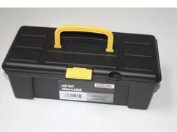 TOOL BOX ART BOX FISHING TACKLE BOX PLASTIC 12X6X4 INCHES 1/