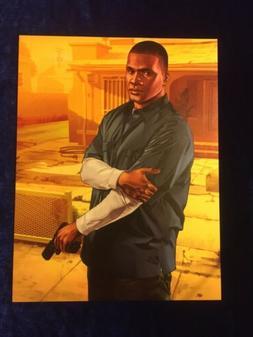 "GTA5 Magnet 8""x10"" Franklin Repo Hustler Grand Theft Aut"