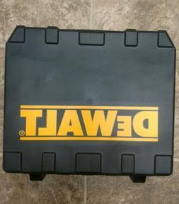 DEWALT hard plastic drill case