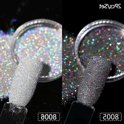 Holographics Dust Acrylic Nail Kit Acrylic Powder Glitter Na