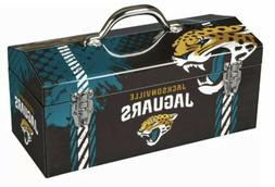 """Jacksonville Jaguars Tool Box NFL 16.3"""" x 7.2"""" x 7.5"""" Toolbo"""