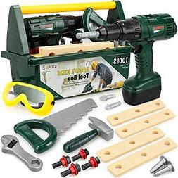 Kids Tool Set for Boys - Toy Tool Set for Toddlers with Kids