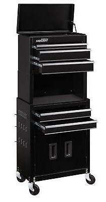 HYPER Tough 20 Rolling Sturdy Steel Tool Chest 5 Drawers and