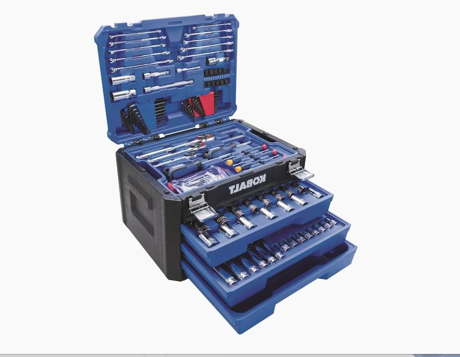 227 piece mechanic tool set with drawer