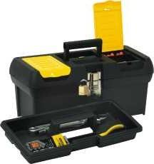"""Stanley 016013R 16"""" Tool Box With Tray"""
