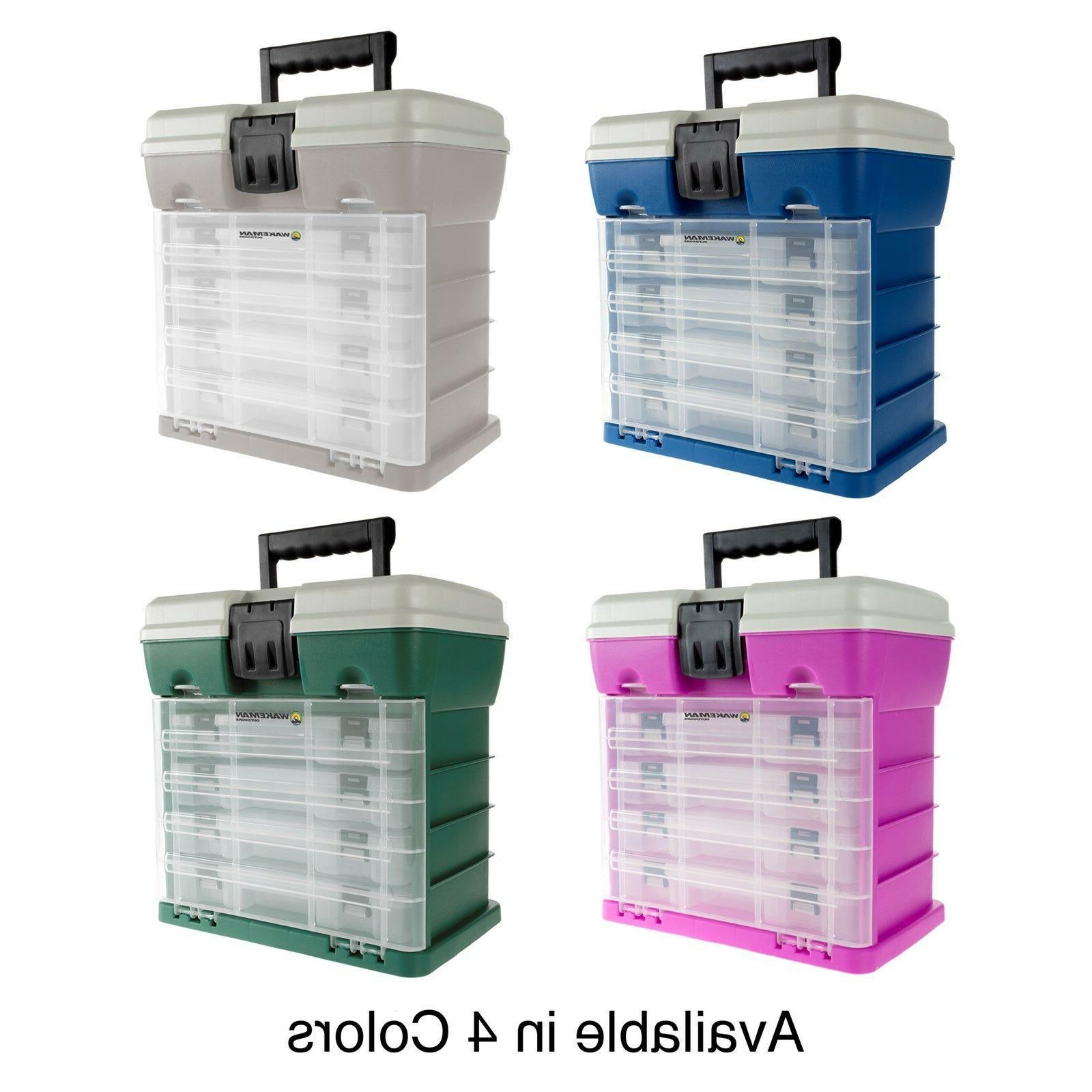 crafts sewing tool box storage compartments portable