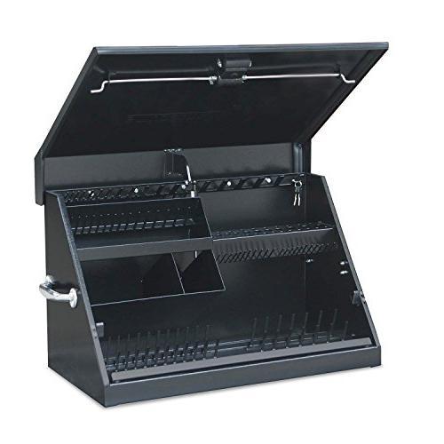 me300b portable toolbox black garage