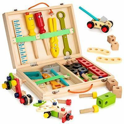 tool kit for kids wooden tool box