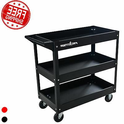 tools cart organizer wheels storage steel 3