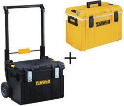 Dewalt Large Rolling Toolbox on Wheels W/ ToughSystem 5 Day