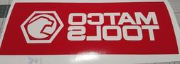 Matco Tools Logo Decal Vinyl Sticker Tool Box Mechanic ASE 0