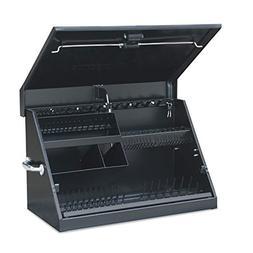 Montezuma ME300B Portable Toolbox 30 x 15in Black Garage Sto