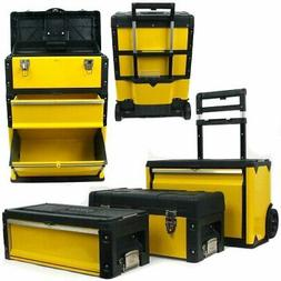 Oversized Portable Tool Chest, Three Tool boxes in One