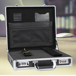 Password Lock Aluminum Briefcase Executive Office Tool Stora