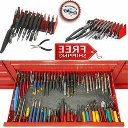 Pliers Rack Tool Drawer Storage Organizer Holder Metal Craft