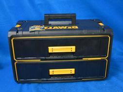 DEWALT Portable Stackable Tool Box 2 Drawer Unit DWST08290