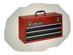 CRAFTSMAN Portable Tool Box 20.5-in Ball-bearing 3-Drawer Re