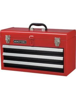 ❇️CRAFTSMAN Portable Tool Box 20.5-in Ball-bearing 3-Dra