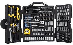 Professional 210 PC Mechanics Tool Set Stanley Tools Boxes S