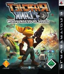 PS3 game - Ratchet & Clank: Tools of Destruction  EN/GER box