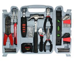 SAVWAY Household Tool Set 129PCS Mechanics Tool Kit Car Repa